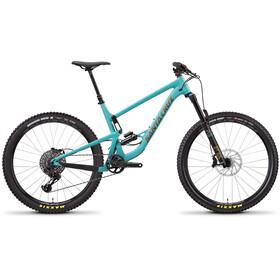 Santa Cruz Bronson 3 AL S-Kit täysjousitettu MTB , sininen